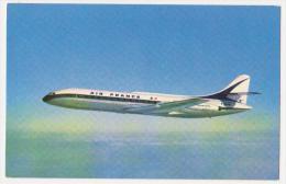 "Carte Postale Ancienne Année 60 ""Caravelle"" Air France - 1946-....: Moderne"