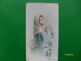 Chromo Images Devotion Madonna A Colori  Elè A 402 - Devotieprenten