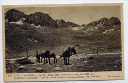 Andorre--1938--PAS DE LA CASA---Juments Et Poulains Paissant  Alt 2085m N°116 Foto Claverol--Jolie Carte - Andorre