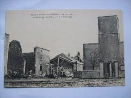 Ma Réf: 65-20-31.             MORFONTAINE   Eglise Et Maisons Incendiées..... - Otros Municipios