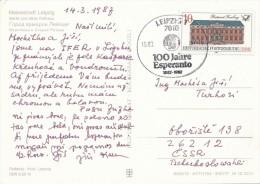I5327 - DDR (1987) 7010 Leipzig 1: IFER 1987; 100 Years Esperanto - Esperanto
