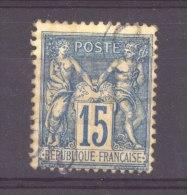 CLX 944  :  YV  101  (o)  Obl. OR - 1876-1898 Sage (Type II)