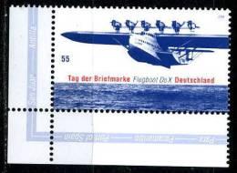 BRD - Michel 2428 ECKE LIU - ** Postfrisch (A) - 55C  Tag Der Briefmarke Flugboot DoX - BRD