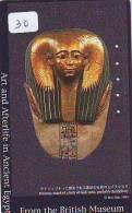 Egypte Egypt Mahlerei (30) T�l�carte Telefonkarte Painting Painture EGYPT related - �gypten