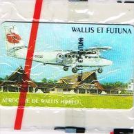 Wallis Et Futuna Telecarte Phonecard Publique WF15A Aerogare Hihifo Avion Hibiscus Aircalin  Cote 110 Neuve TB - Wallis And Futuna