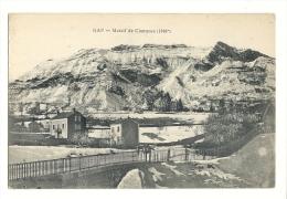 Cp, 05, Gap, Massif De Charance, écrite 1918 - Gap
