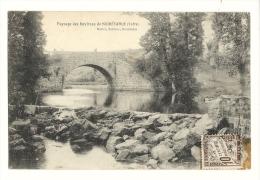 Cp, 39, Paysage Des Environs De Noirétable, Voyagée 1911 - Noiretable