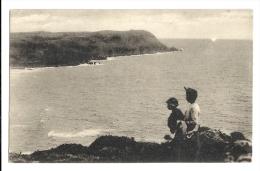Cp, 50, La Baie D'Ecalgrain, Et Les Grandes Falaises De JObourg, Voyagée - France