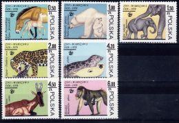 Poland 1978 Series - Mi#2584-90 - Warsaw Zoological Gardens - PLS167 - Stamps