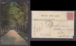 Postcard  Used 1907, TOLEDO, Ontario, Canada To Ekotokozeni Ingogo, INGOGO RAIL NATAL C.d.s. - South Africa (...-1961)