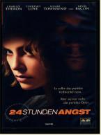 VHS Video  -  24 Stunden Angst  -  Es Sollte Das Perfekte Verbrechen Sein  -  Von 2002 - Action & Abenteuer