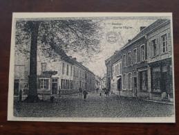 Rue De L'Eglise (5) / Anno 19?? / Copie / Copy Collection Bertels ( Zie/voir Foto Voor Details ) !! - Hamme