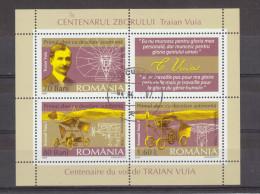 2006 - Premier Vol Avec Propulsé Automatique / T.VUIA  Mi No Block 370 - Used Stamps