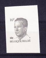 BELGIQUE COB 2352 XX  NON DENTELE DECOUPE DU FEUILLET  BELGICA 1990. (4TJ39) - 1981-1990 Velghe