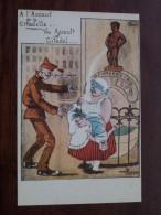 Manneken-Pis Club Café Ste Catherine / Anno 1985 - Cercle Cartophilique / Prentkaartenclub ( Zie Foto Voor Details ) !! - Bourses & Salons De Collections