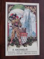 5 X Im Jahr ( E. Michaelis ) Anno 19?? Köln - Post Sammlungen Briefmarken Etc.. ( Zie Foto Voor Details ) !! - Bourses & Salons De Collections