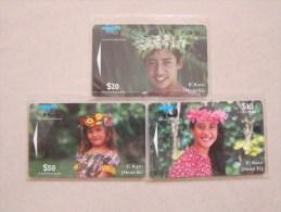 GPT Phonecard,02CIC,D,E Ei Katu, Set Of  3,mint