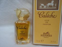 """HERMES """" CALECHE : MINI SOIE DE PARFUM"""" 7,5 ML  VOIR  & LIRE!!! - Miniaturen Flesjes Dame (met Doos)"""