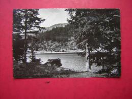 CPSM   68  LA VALLEE DE MUNSTER    LAC DE SOULTZEREN     VOYAGEE  1951 - Munster