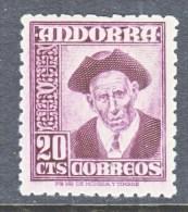 SPANISH  ANDORRA  40   * - Spanish Andorra
