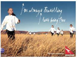 (701) Australia - QANTAS Advertising Postcard (set Of 6 Different Cards) - Aviation