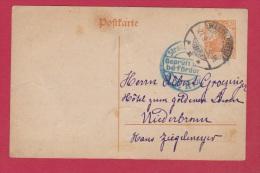 ALLEMAGNE  // POSTKARTE DE WASSELNHEIM   //  POUR NIEDERBRONN  //  21/9/1917 - Postwaardestukken
