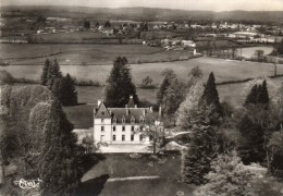 CPSM  -  LE  CHATENET En DOGNON  (87)   Le Chateau De Rosier -  Vue Aérienne - France