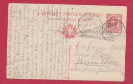 ITALIE  // CARTE POSTALE  //  DE BARDOLINO  //  POUR MUNCHEN  //  15/9/1913 - Affrancature Meccaniche Rosse (EMA)