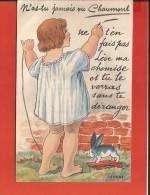 Cpa - Chaumont (52) - Lève Ma Chemise Et Tu Verras... - Carte A Système - Chaumont