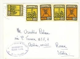 EQUADOR - ECUADOR - DA QUITO LETTERA  PER L´ITALIA  - POSTA AEREA - ANNO 1979 - Equateur