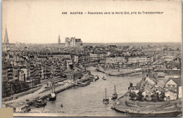 44 NANTES - Panorama Vers Le Nord Est, Pris Du Transbordeur - Nantes