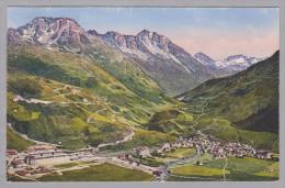 Uri Andermatt 1919-VIII-30 Andermatt Gegen Das Unteralptal Photoglob ZH - UR Uri