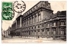 CP, 59, LILLE, Faculté De Droit, Voyagé En 1913, Ed : G.L. - Lille
