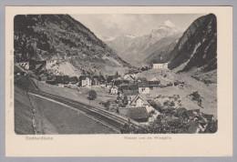 Uri WASSEN Ungebraucht Gotthardbahn Windgälle Foto Brennenstühl - UR Uri