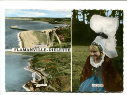 CP - FLAMANVILLE (50)diellette - Autres Communes