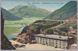 Uri Andermatt 1920-VI-6 Andermatt Kriegskaserne Foto Goetz - UR Uri