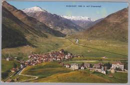 Uri Andermatt 1933-VIII-12 Andermatt Mit Urserental Foto Goetz - UR Uri
