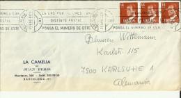 BARCELONA CC SELLOS BASICA JUAN CARLOS I - 1931-Hoy: 2ª República - ... Juan Carlos I