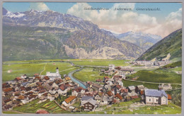 Uri ANDERMATT 1916-VIII-13 Andermatt Generalansicht Foto Goetz - UR Uri