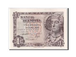 Espagne, 1 Peseta Type Dame D'Elche - [ 3] 1936-1975 : Régence De Franco