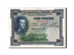 [#303935] Espagne, 100 Pesetas Type Felipe II - [ 2] 1931-1936 : Repubblica