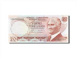 [#255627] Turquie, 20 Lira, Type Président Kamel Atatürk - Turchia