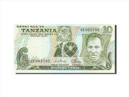 [#255579] Tanzanie, 10 Shilingi, Type Président J. Nyerere - Tanzanie
