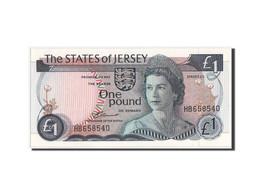 [#350085] Jersey, 1 Pound Type 1976 ND, Pick 11a - Jersey