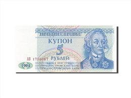 [#255605] Transnistrie, 5 Rublei, Type A. V. Suvurov - Billetes