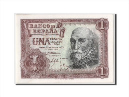 [#303913] Espagne, 1 Peseta Type Santa Cruz - [ 3] 1936-1975 : Régence De Franco