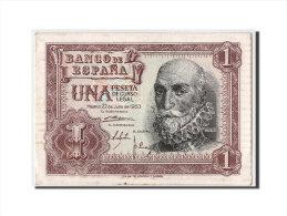 [#303955] Espagne, 1 Peseta Type Santa Cruz, - [ 3] 1936-1975 : Régence De Franco