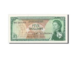 [#350087] Caraïbes, 5 Dollars Type 1965 ND, Pick 14h - Caraïbes Orientales