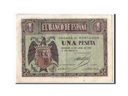 [#303895] Espagne, 1 Peseta Type 1938 - [ 3] 1936-1975 : Régence De Franco