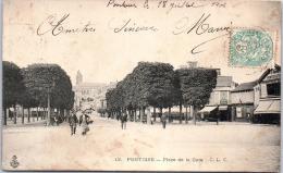 95 PONTOISE - Place De La Gare - Pontoise